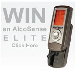 Win an AlcoSense Elite