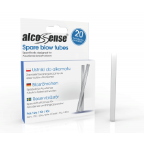 AlcoSense Blow Tubes (Pack of 20)