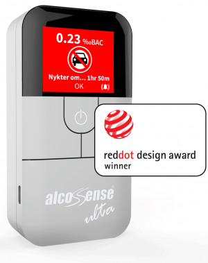 AlcoSense Ultra Fuel Cell Breathalyzer