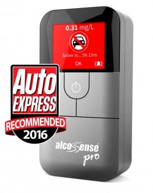 AlcoSense Pro Auto Express Magazine Award Winner