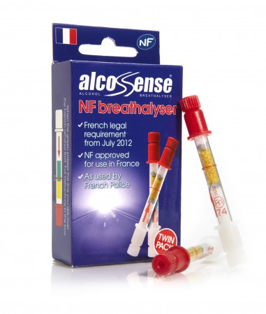 AlcoSense NF Breathalyzer for France (Twin Pack)