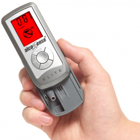 AlcoSense Elite 2 Breathalyzer (Multi Alert Level)