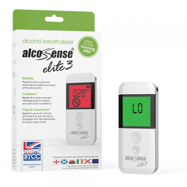 AlcoSense Alcohol Tester Blow Tubes x20 For AlcoSense Elite /& Lite Breathalysers