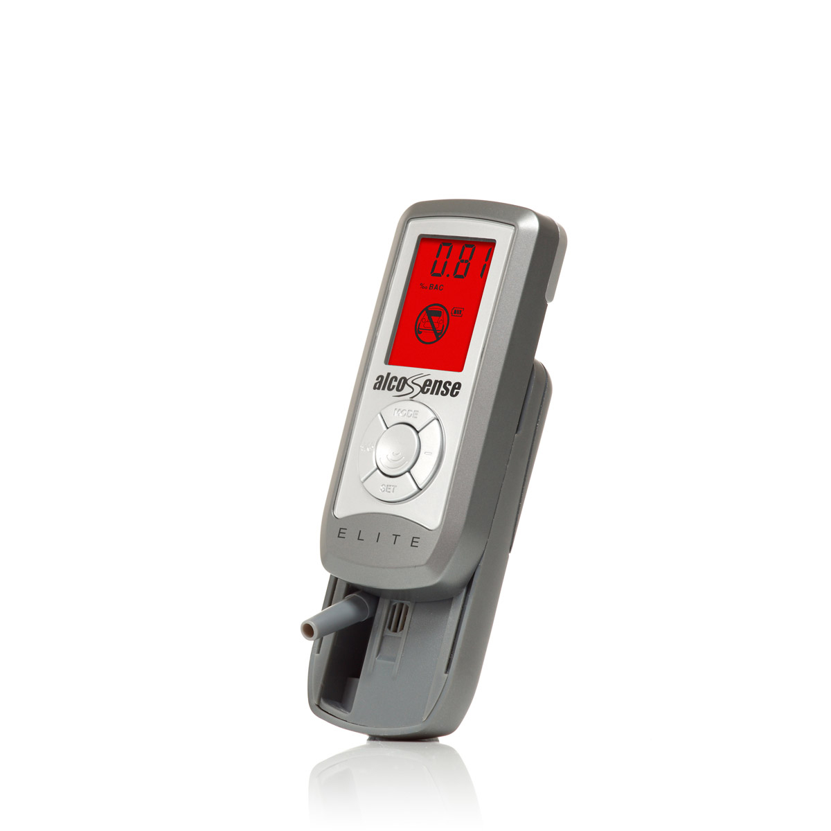 How do you use a home breathalyzer?