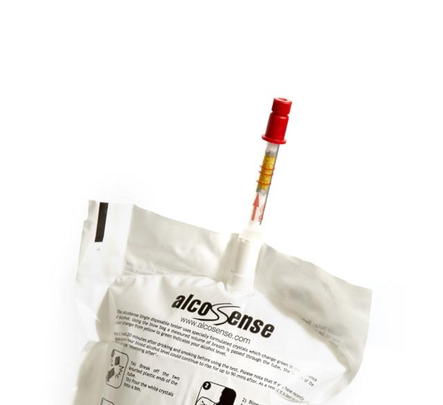 Alco Sense Single Use Breathalysers Alcohol test