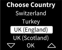 AlcosenseUltra choose country