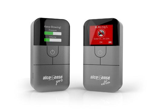 AlcoSense Pro and Ultra win Red Dot Design Award